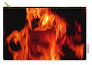 The Face Of Fire Carry-all Pouch