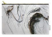 The Face Of Seaweed Carry-all Pouch by Mary Lee Dereske