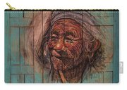 The Face Of Wisdom Carry-all Pouch