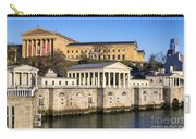 The Fairmount Water Works And Art Museum Carry-all Pouch