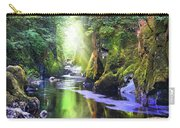 The Fairy Glen Gorge River Conwy Carry-all Pouch