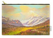The Fall Colors Of Alaska Route 8 No.3 Carry-all Pouch