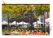 The Fall Harvest Is In Kendall Square Farmers Market Foliage Carry-all Pouch