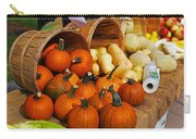 The Fall Harvest Is In Kendall Square Farmers Market Carry-all Pouch