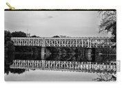 The Falls Bridge From Kelly Drive Carry-all Pouch