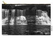 The Falls In Black And White Carry-all Pouch