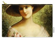 The Fancy Bonnet Carry-all Pouch by Emile Vernon