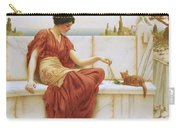 The Favorite Carry-all Pouch by John William Godward