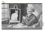The Favourite Cat And De La Tour The Painter Carry-all Pouch