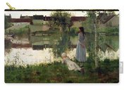 The Ferry Carry-all Pouch by William Stott