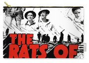 The Fighting Rats Of Tobruk  Theatrical Poster 1944 Color Added 2016 Carry-all Pouch