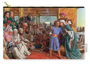 The Finding Of The Savior In The Temple Carry-all Pouch by William Holman Hunt