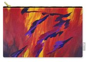 The Fire Of Life Carry-all Pouch