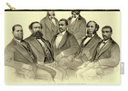 The First African American Senator And Representatives Carry-all Pouch