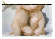 The First Kiss  Carry-all Pouch by William Adolphe Bouguereau