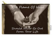 The Flame Of Hope Carry-all Pouch