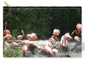 The Flamingos Carry-all Pouch