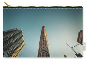The Flatiron Building Towering Over Manhattan Carry-all Pouch