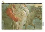 The Flight Into Egypt Carry-all Pouch by John Lawson