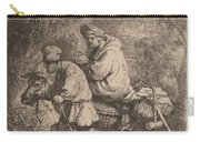 The Flight Into Egypt: Small Carry-all Pouch