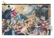 The Flight Of Father Dominic Carry-all Pouch by English School