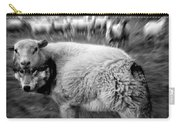 The Flock Is Safe Grayscale Carry-all Pouch