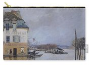 The Flood At Port Marly Carry-all Pouch by Alfred Sisley