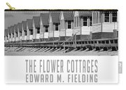 The Flower Cottages By Edward M. Fielding Carry-all Pouch