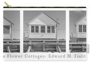 The Flower Cottages Trio Poster Carry-all Pouch