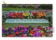 The Flower Field Carry-all Pouch