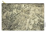 The Flower Garden, 1888 Carry-all Pouch
