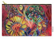 The Flowering Carry-all Pouch