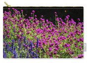 The Flowers And The Bees Carry-all Pouch