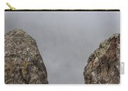 The Fog Through The Rocks Carry-all Pouch