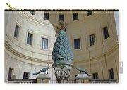 The Fontana Della Pigna In The Vatican City Carry-all Pouch