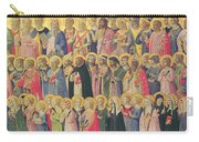 The Forerunners Of Christ With Saints And Martyrs Carry-all Pouch