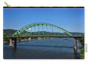 The Fort Henry Bridge - Wheeling West Virginia Carry-all Pouch