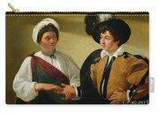 The Fortune Teller Carry-all Pouch by Michelangelo Merisi da Caravaggio