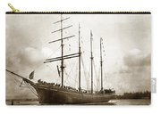 The Four-masted Barkentine  Jane Stanford Built By Hans Bendixse 1892 Carry-all Pouch