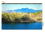 The Four Peaks From Saguaro Lake Carry-all Pouch