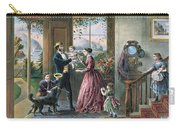 The Four Seasons Of Life  Middle Age Carry-all Pouch by Currier and Ives
