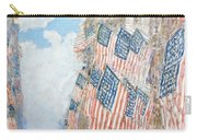 The Fourth Of July Carry-all Pouch by Childe Hassam