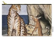 The Fox And The Leopard Carry-all Pouch