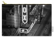 The Fox Thearter Bw Atlanta Night Art Carry-all Pouch