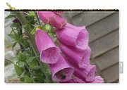The Foxglove And The Bumble Bees Carry-all Pouch