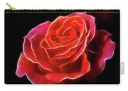 The Fractalius Rose Carry-all Pouch