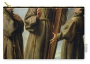 The Franciscan Martyrs In Japan Carry-all Pouch by Don Juan Carreno de Miranda