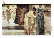 The Frigidarium Carry-all Pouch by Sir Lawrence Alma-Tadema