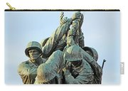 The Front Up Close -- The Iwo Jima Monument Carry-all Pouch