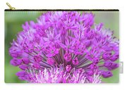 The Full Bloom Of Flowering Ornamental Onion Carry-all Pouch